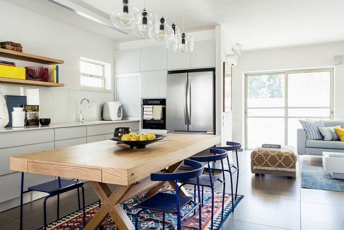 Eclectic Charm Inside A Modern Renovated House In Israel Founterior