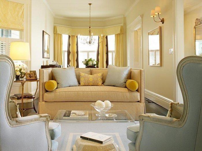 Beautiful Traditional Living Room Founterior