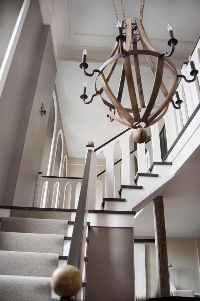 New Ways To Decorate Your Staircase Founterior