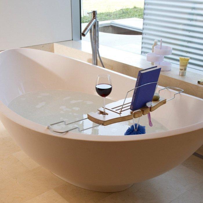 18 Bath Caddy Rack And Tray Ideas For Creative Bathrooms