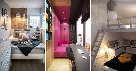 25 Small Bedroom Decorating Ideas On A Budget Small Bedroom Ideas Founterior