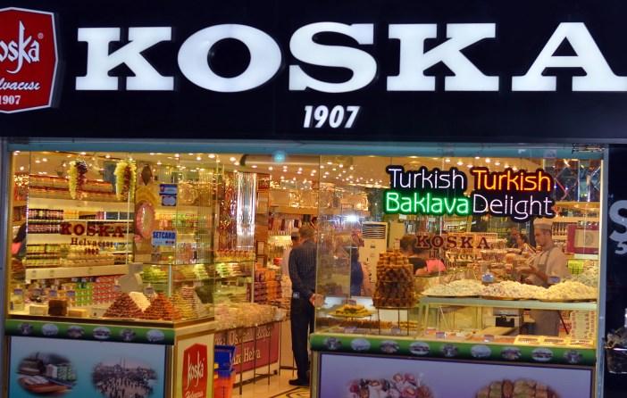 Koska lukum shop Istanbul shopping