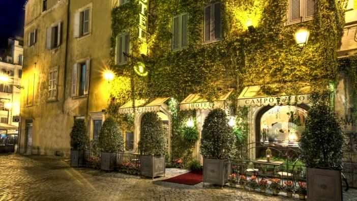 Отель на Кампо-деи-Фьори, Рим (Campo de Fiori, Rome)