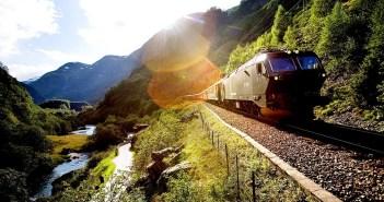 Фломская железная дорога, Норвегия