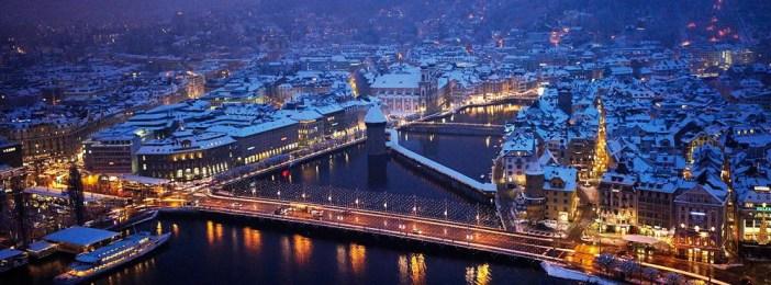 Зимний отдых в Люцерне, Швейцария