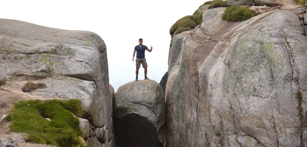 Валун Кьерагболтен, Норвегия — как добраться, где находится