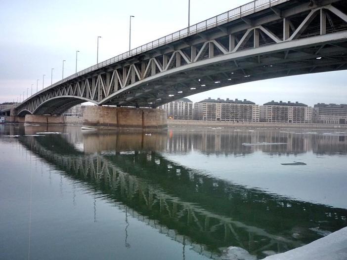 Мосты Будапешта — #6 Мост Петёфи
