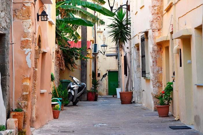 Достопримечательности Крита: улочки Ханьи