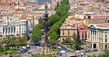 Улица Ла Рамбла, Барселона — отели и достопримечательности