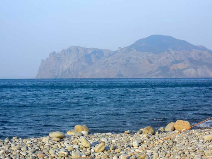 Мертвая бухта - нудистский пляж (Коктебель, Крым)