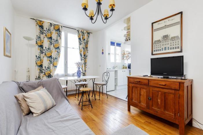 Апартаменты Place des vosges (площадь Вогезов, Париж)
