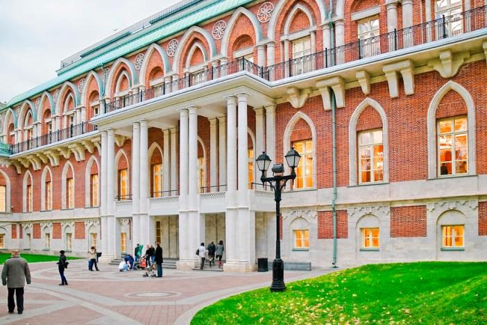 Большой дворец, заповедник «Царицыно», Москва