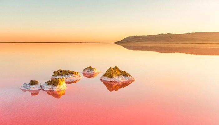 Кояшское озеро без фотошопа (Керчь, Крым)