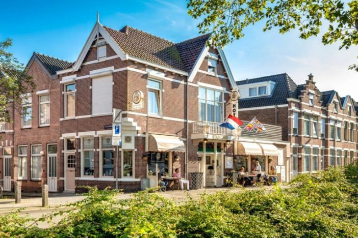 Hotel Stad en Land недалеко от вокзала Алкмара