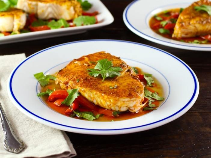 Как приготовить рыбу храйме (рецепт, ингредиенты)