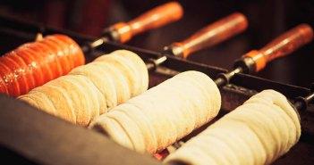 Уличная еда в Будапеште (сладости и быстрые перекусы)