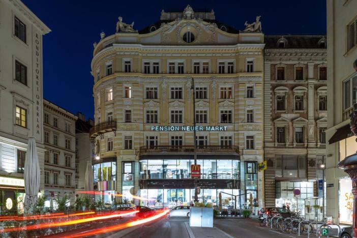 Pension Neuer Markt в историческом центре Вены