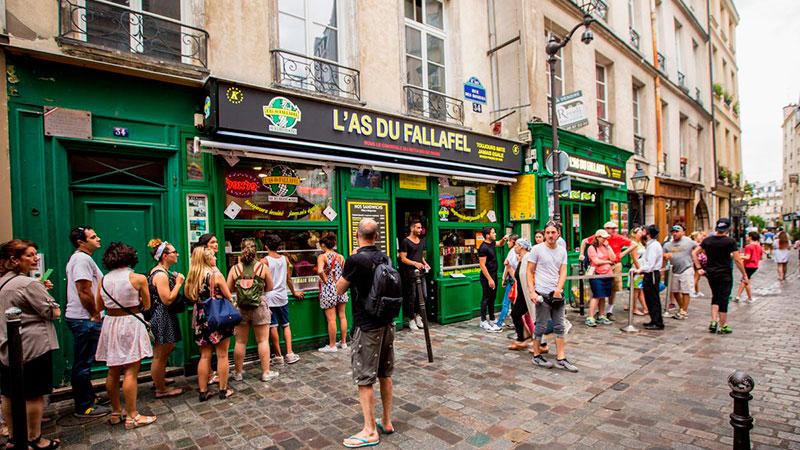 выступающие квартал маре в париже фото течение