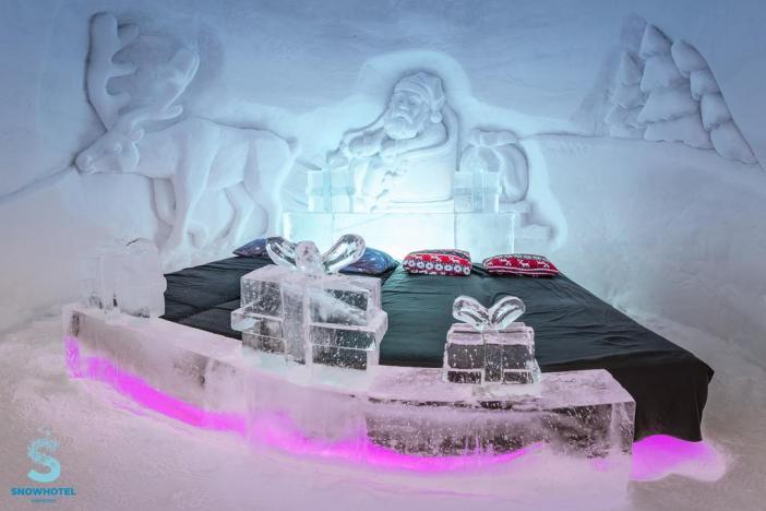 Ледяной отель в Норвегии: Snowhotel Kirkenes