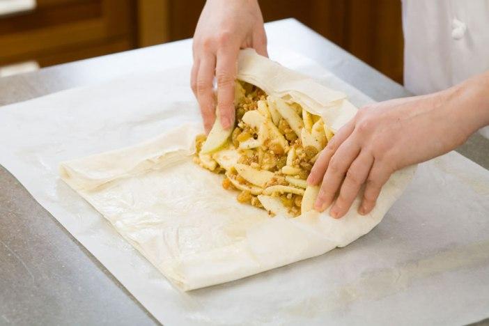 Блюда венской кухни: апфельштрудель