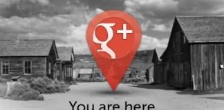 Google+: non è un paese per fantasmi!