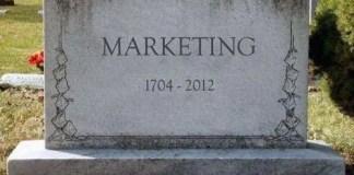 Il marketing è morto