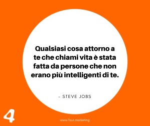 FOUR.MARKETING - STEVE JOBS