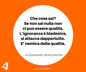 FOUR.MARKETING - ALESSANDRO BERGONZONI