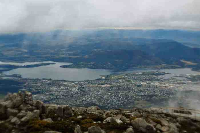 self drive tasmania mt wellington