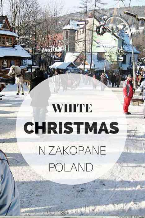 White Christmas in Zakopane, Poland
