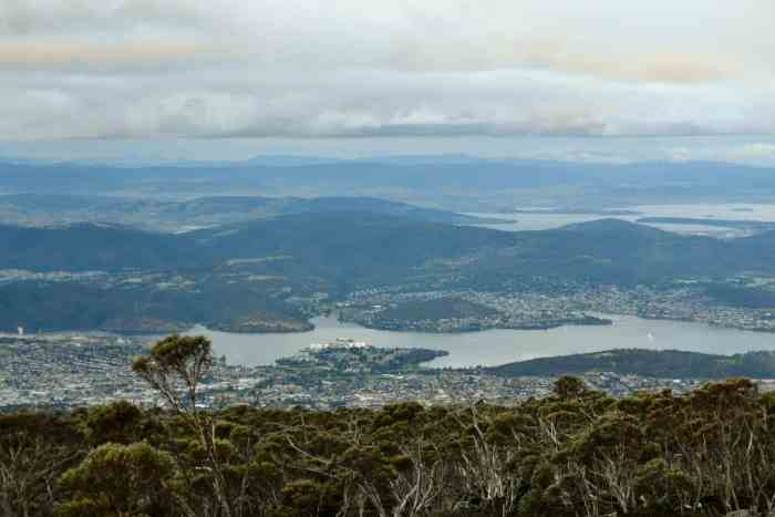 Hobart Mt Wellington