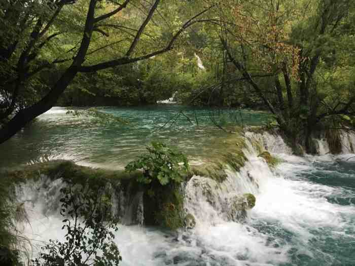 Plitvice National park with kids