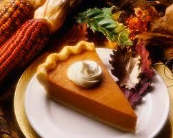 Pumpkin pie!