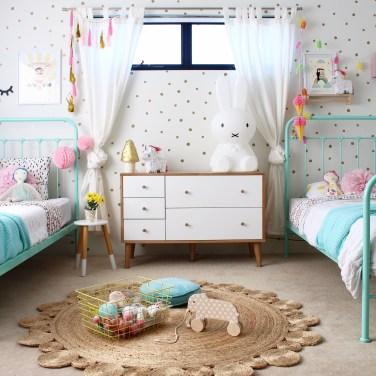 Barnrum barnrum diy : Shared girls bedroom ideas - Kids interior design, decor and DIY