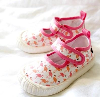 Flamingo Mary Janes by WALNUT melbourne - kids summer essentials