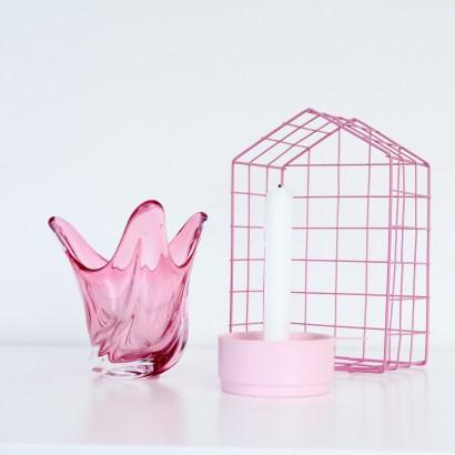 Home decor ideas - aussie home tour pink vignette