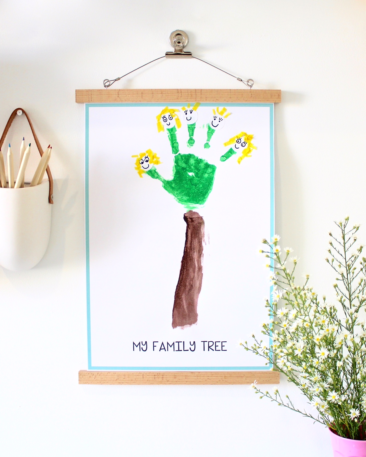Family Tree Craft Activity Ideas For Kids