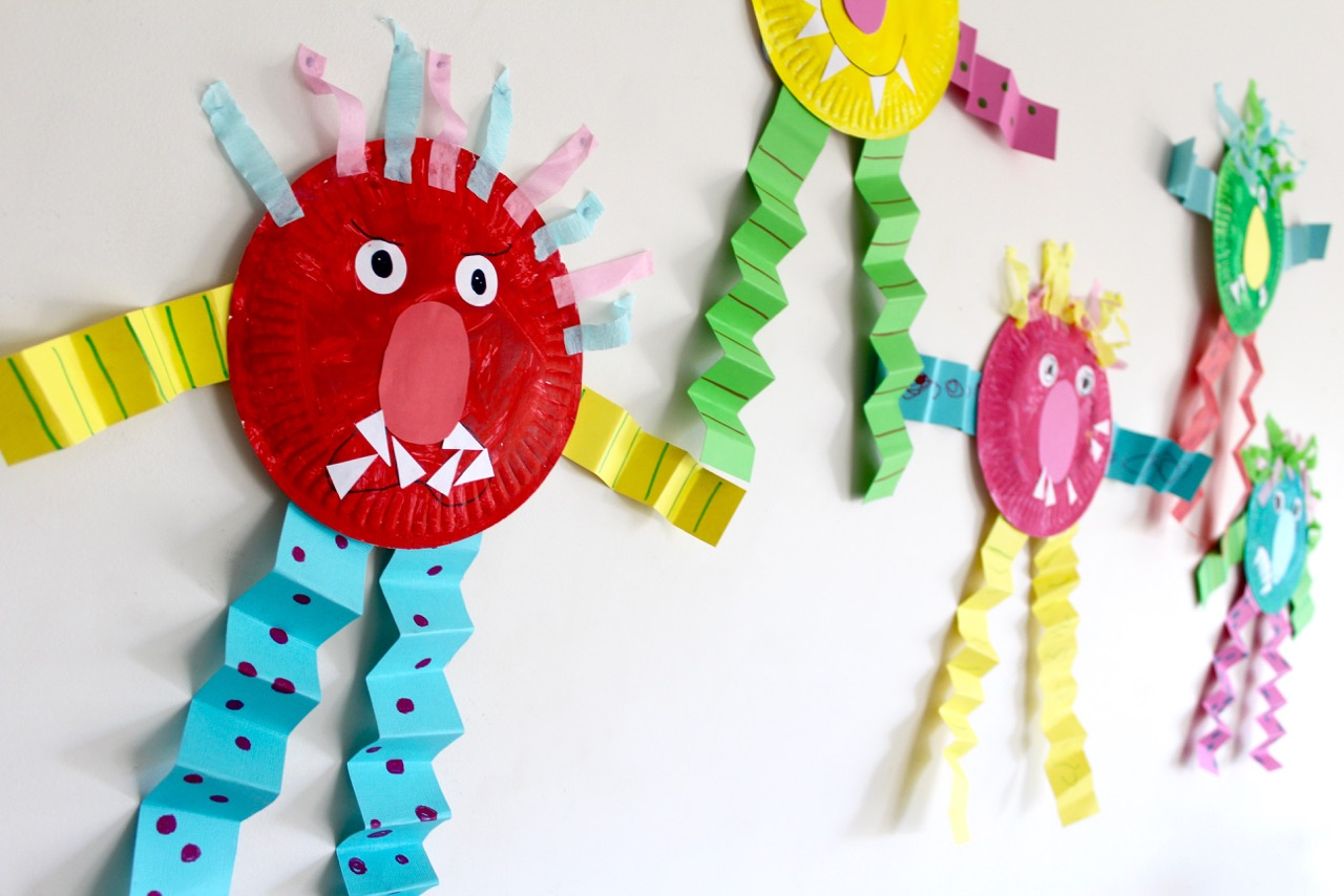 Sad Monster Glad Monster Feelings Activities And Craft