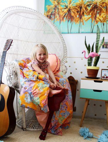boho bedroom decor | kids bedroom ideas | boho kids room decor
