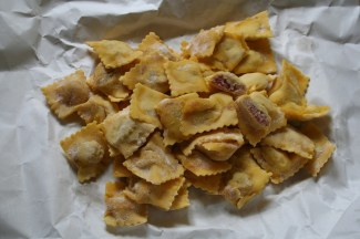 Handmade pasta from Torino, Italy