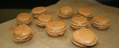 Macarons in the making2