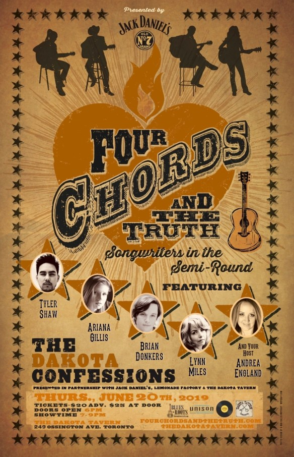 06/20/19 – Four Chords and the Truth: 17th Dakota Confessions | Four