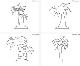palm tree coloring pages palm tree coloring pages cooloring com