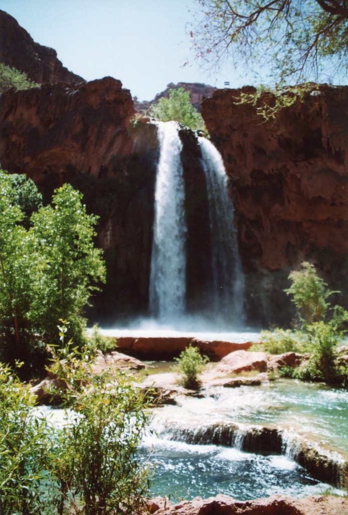 Mooney Falls in Havasu Canyon