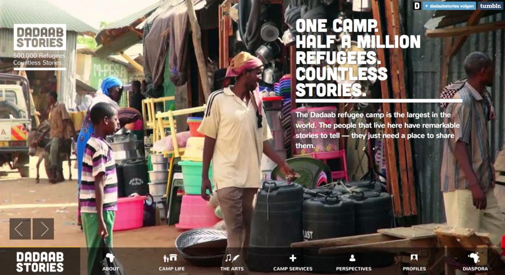 Voorbeeld Dadaab Stories