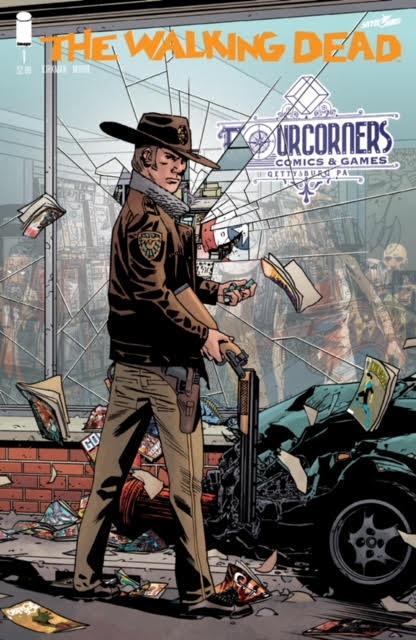 Walking Dead 15th Anniversary Fourcorners Comics Variant