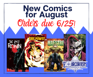 New Titles for August - Subscribe Today!