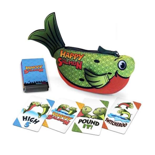 Happy Salmon Card Game - Green