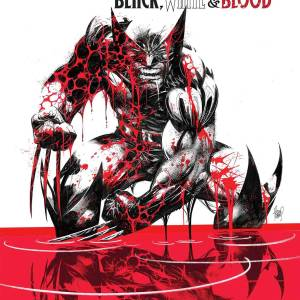 Wolverine Black White & Blood
