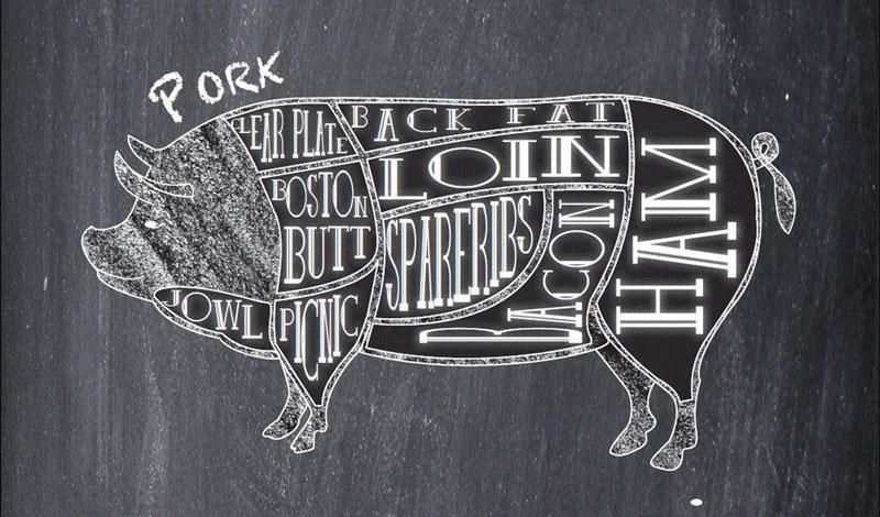 Range Raised Pork: Winter Larder Wonder
